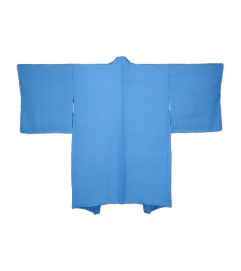 柄が多色な羽織ですが、柄を残さずブルーの色に・・・  香川 T・K 様2A